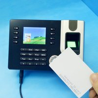 Wholesale Biometric Fingerprint Attendance Time Clock with ID Card Reader TCP IP USB Attendance Management System Free Software