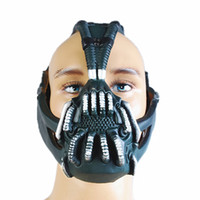 bane mask adult - New Anime Batman The Dark knight Rises Bane Mask With Voice Changer Modulator for Halloween Party Cosplay Props