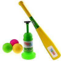automatic toy train - DHL free Semi Automatic Launcher Kids Baseball Toy Training Set