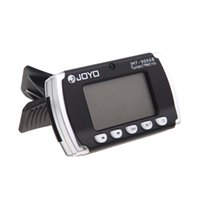 acoustic metronome - New Digital LCD Clip on Backlit Metronome Tuner for Electronic Acoustic Guitar Chromatic Bass Violin Ukulele JOYO JMT B tinyaa