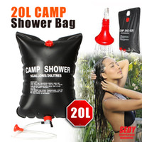 Wholesale SEDY Solar Heated Portable Shower Bag Outdoor Camping Travel L