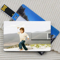 Wholesale Free customzied logo Card USB Flash Pendrive flash disk stick drive USB Real for gift or use