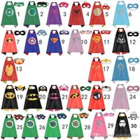baby superhero costume - Pretty Baby designs children superhero supergirl batman captain america robin transformer cape and mask sets children christmas gifts