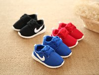 Wholesale 2016 Hot Sale Spring Summer mesh first walker kids Boys Girls shoes Casual Sneakers soft bottom Children shoes Breathable