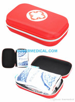 Wholesale EVA car first aid kit outdoor first aid kit parts of medical kit First Aid Kit For Outdoor Travel Sports Emergency Survival Indoorv