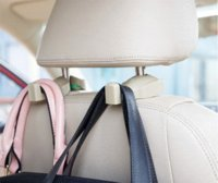 Wholesale nd Generation second to install convenient car accessories bags hook hanger car seat Storage compartment Hook