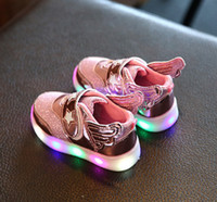 air step shoes - kids light up shoes baby shoes steps Network layer cloth years old