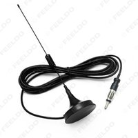Wholesale 10pcs good product for Car Universal Magnetic Base Roof Mount Radio AM FM Aerial Antenna guarantee quality
