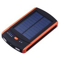 best laptop batteries - Best Power Bank mAh Solar Charger Bateria Externa Waterproof Battery Chargers Dual USB Powerbank for Smartphones