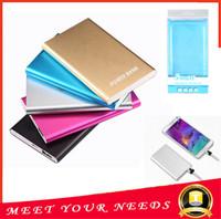 banks external battery - Ultra thin slim powerbank mah xiaomi power bank for mobile phone Tablet PC External battery