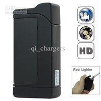 Wholesale Spy Lighter Cameras Newest Electric Lighter Spy Camera Video Audio Motion Detection Real Lighter Hidden Mini Camera