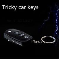 Wholesale Electric Shock Gag Joke Prank Car Key Remote Fun Joke Car Remote Control