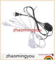 awg cables - YON New Arrival M White Black No Polarity AWG Switch Dimming Cable Light Modulator Lamp Line Dimmer V