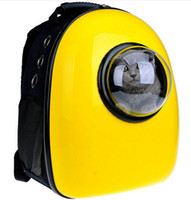 Wholesale Explosion models sell well Multifunction Pet Backpack Space capsules backpack