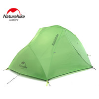 Wholesale NatureHike Good Quality D Silicone Fabric Waterproof Double Layer Person Season Aluminum Rod Outdoor Camping Tent