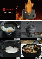 Wholesale Outdoor portable liquid alcohol burner stainless steel picnic camping stoves gas grills easy to install MM