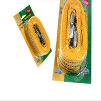Wholesale Car trailer line emergency line traction rope vehicle necessary tools meters long bearing tons