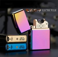 arc lighting - Usb Lighter Rechargeble Electronic Cigarette Lighter Smoking Windproof Lighters torch lighter usb lighter butane lighter Arc lighter