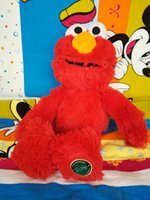 Wholesale cm sesame street muppet elmo plush stuffed toys for children action figure plush interactive toys kawaii gift319