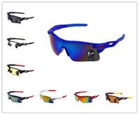 Wholesale 2016 Fashion Explosion Proof Designer Sunglasses For Men Colors UV400 Sports Protective Goggle Sunglasses Outdoor Sports Men Eyewear