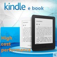 Ebook blanc Prix-Gros-noir blanc NEW KINDLE lecteur ebook à écran ebook tactile E - encre 6 pouces 100% authentique Livraison gratuite
