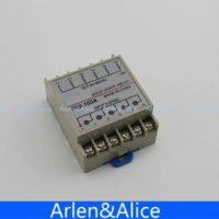 Wholesale 10DA Channel Din rail SSR quintuplicate five input VDC output VAC single phase DC solid state relay