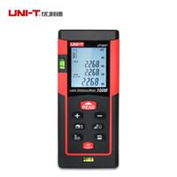 Wholesale UNI T UT393 m Portable Handheld Digital Laser Distance Meter with air bubble for Construction Real Estate Laser Level nm