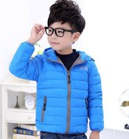 Wholesale 2016 New children s winter outerwear Retail Children s Winter Down Jackets Baby Down Coat Boys and girls Outerwear coroa para noiva