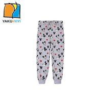 Wholesale Girl s Print Mickey Mouse Pants Drawstring Waist Loose Trousers Sweet Preppy Style Casual Pant Kids Wear YAKUYIYI