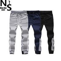 arrival sports pants - TOP NS New Arrival Men Fashion sport trousers for mens jogger pants outdoors joggers cotton pant XL XL