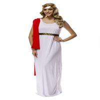 athena costume - fashion ladies womens God king Zeus Athena goddess white dress cosplay Halloween costume dress uniforms dress