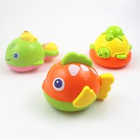 bathtub styles - Fish Images Cycle Chain Free Swimming Plastic Toys style as a set For Bathtub Games