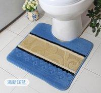 Wholesale New Bathroom Toilet Rugs Anti slip Floor Mats