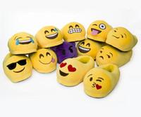 Pantoufles Emoji Mignon Chaude Chaussettes Chaussures Chaudes Chaussures Chaussures Décontractées Chaussures Avec 10 Motifs Pour Adultes Unisex