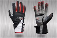 Wholesale New Waterproof Soft Warm Windproof Tactical Bike Cycling Gloves Long Gloves Nylon Winter Sports Full Finger Gloves Ciclismo