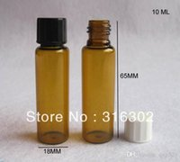 amber bakelite - 10ml screw neck amber glass vials with bakelite cap serum bottle oz brown glass container essence package