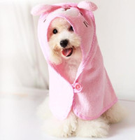 Wholesale Pet Fashion Series Dog Bathing Products Dog Towel cotton soft absorbent pet towel sizes colors JF