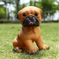 Wholesale Creative explosion models fun rubber toy dog screaming pug small children s toys Simulation vent screaming toys
