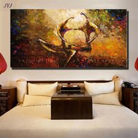 artists for life - Handpainted Figures Picture Modern Abstract Oil Painting on Canvas Wall Art for Home Decoration by Top Artist no Framed