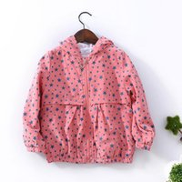 Wholesale Autumn Jackets girls New American style version Brand Fashion Stars shirt Coat children Hoodies girl coat