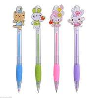 Wholesale Use For Handwriting Winning Baby Rabbit Character Ballpoint pen School Office Writing Kids Gift0 mm
