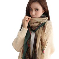 beautiful female paintings - Fashion Charming Beautiful Silk Scarf Comfort And Soft Scarf Female Light Weight Colorful Painting