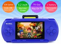 best portable game console - Best gift for kids boy inch color screen game console portable games build inside handheld game player for nes for sega