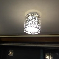 Wholesale AC85 V Ceiling Lights Home lamp door lights corridor lights porch dining room Ceiling lamp aisle small hall LED lights