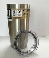 Wholesale Discount Price YETI COOLERS OZ STAINLESS STEEL RAMBLER TUMBLER CUP COFFE hot item by dhl Oz in stock also