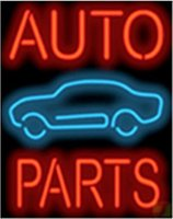 auto parts place - Auto Parts Real Glass Neon Light Sign Home Beer Bar Pub Recreation Room Game Room Windows Garage Wall Sign