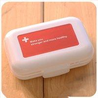 Wholesale Multipurpose portable kit one week small portable medicine boxes Sub mini kit box storage box Plastic seal Travel