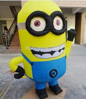 advertising figures - by DHL M Advertising Figure Despicable Me Advertising Inflatable Minion with blower