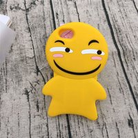accessories for blackberry mobile - iphone SPLUS Yellow Cartoon Silicone case Creative Lovely Evil Soft Mobile Phone Case for iPhone Accessories PLUS