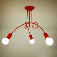 Wholesale Hot Sale Fashion Design of Kids Room Lamp Nordic Dome Light heads Ceiling Lights for Home Decor YSL C